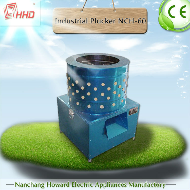 Rubber plucking fingers electric automatic chicken plucker NCH-80 for sale