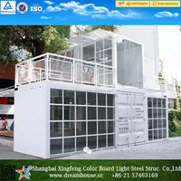 prefab shipping container homes hotel /prefab container apartment/container house