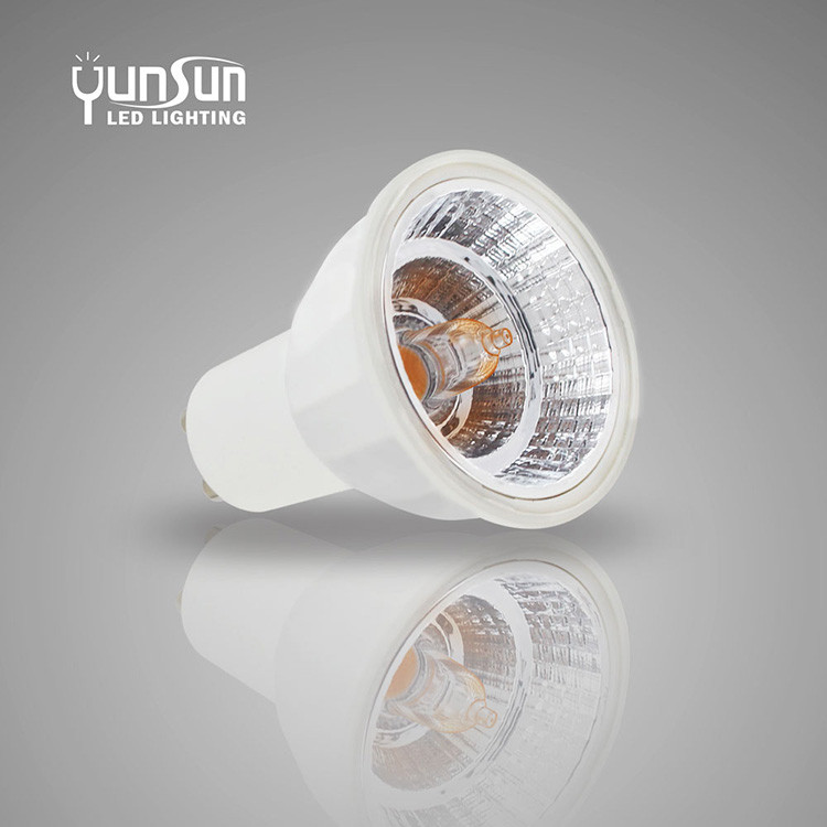 LED Halogen replaceable 6W 550Lumens Dimmable led spotlight bulbs MR16 Gu10 spot lights led