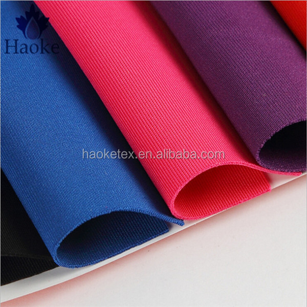75D weft knitted 2.5mm thickness 3d spacer fabric polyester scuba