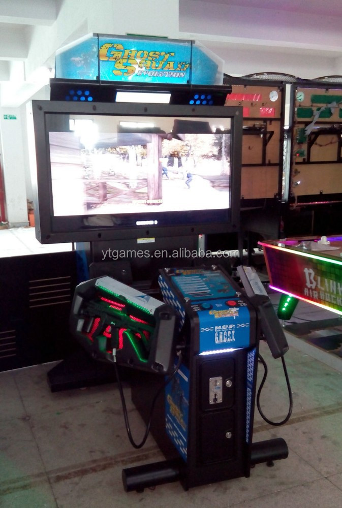 Ghost Squard arcade shooting games video games gun shooting game machine