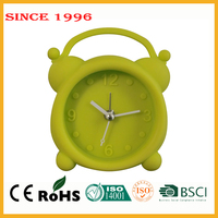 Silicone OEM and ODM small alarm clock advertising promotional gift