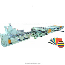 PP plastic hollow slip sheet extrusion machine