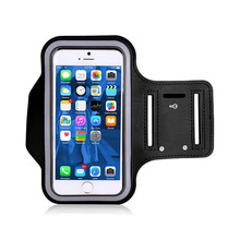 Universal Running Sports Armband For iphone5 Black Gym Phone Bag Case