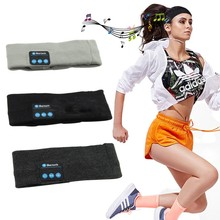 Hot Wireless Bluetooth Stereo Headphone Headset Sports Headband with Mic Cycling Equipment