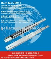 76 MM height heavy load ball bearing drawer slide for industry storage