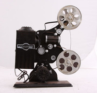 Home Decoration Office Decoration Handmake Vintage Movie Projector Model