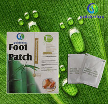Ginger Bamboo detox foot patch