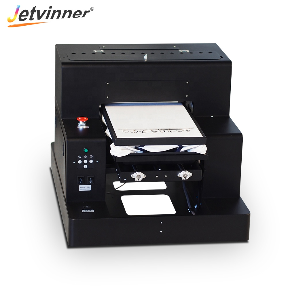 Jetvinner Automatic 3050 dtg printer tshirt machine <strong>shoes</strong> printer print canvas bags and <strong>shoes</strong>