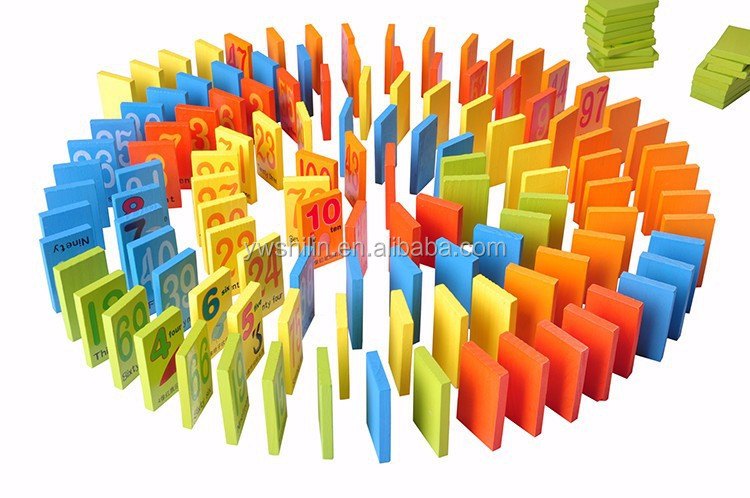 new design wooden domino for kids