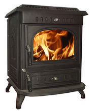 cheap indoor cast iron poy belly stove, long burning wood burning stoves