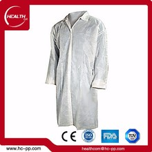 best selling cheap white disposable lab coat