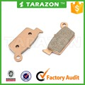 Copper base motorcycle rear brake pad for suzuki RM 250