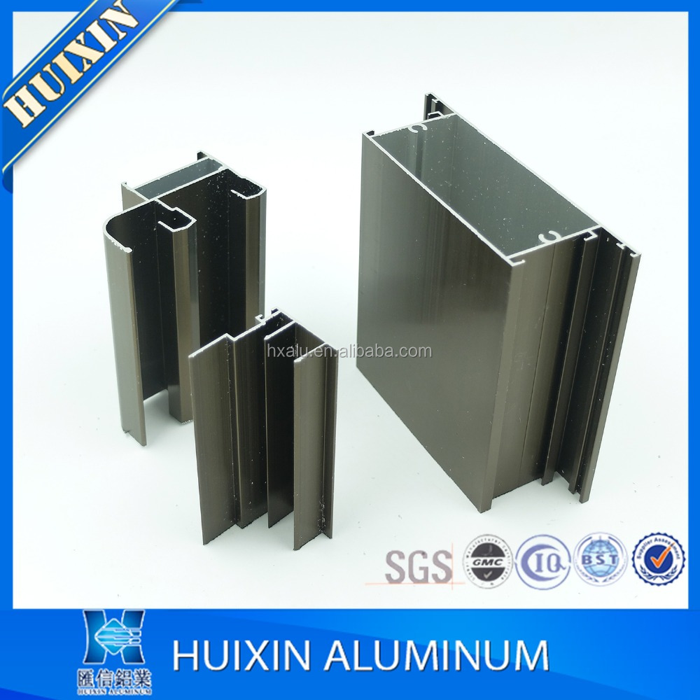 Aluminum grade 6063 aluminum extrusion window framing