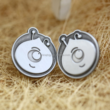 Jiahong custom made hard enamel metal pin badge maker