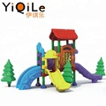 China supplier outdoor plastic slide design as outdoor children play equipment