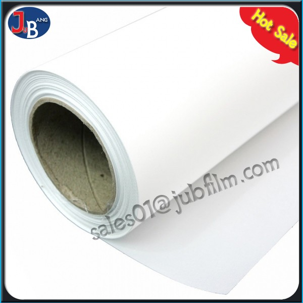 Lighter weight PET clear film for magnetic paperworks