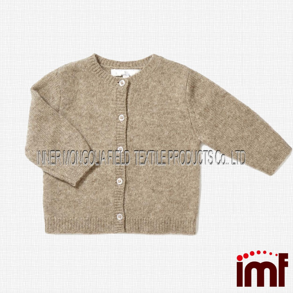 Little Babies Natural Cashmere Cardigan