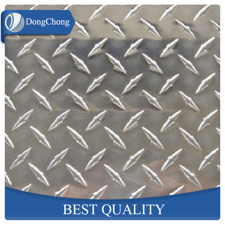 diamond pattern aluminum emboss plate sheet manufacturer