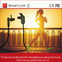 Cell phone accessories bluetooth waterproof stereo headset sport wireless