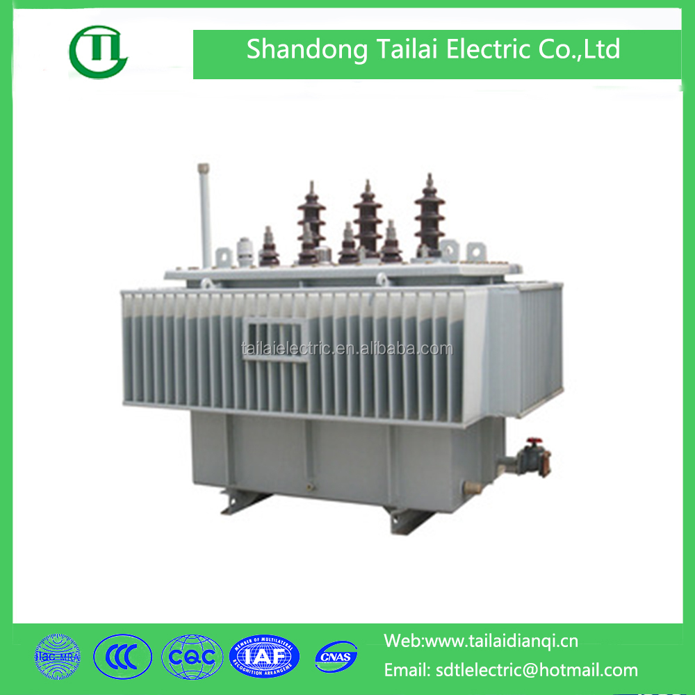 Low loss electrical equipment oil immersed transformer with toroidal coil