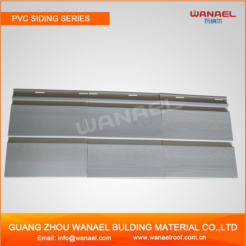 Free sample Wanael Plastic Outdoor Vinyl Siding ,PVC External Wall Panel,PVC Wall Clading