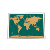 Custom Printing Travelers Deluxe DIY Scratch Off Globe World Map For Promotion