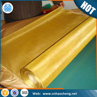 150 200 mesh Rfid blocking fabric brass mesh fabric