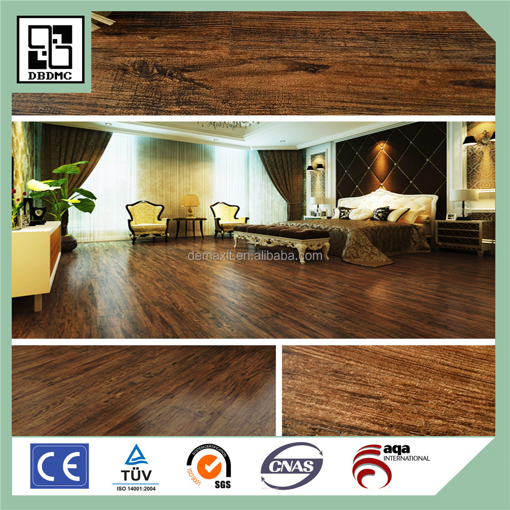 rubber or pvc Buy self-adhesive System wood look Vinyl Plank Flooring