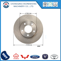Auto spare parts front rear disc brake for mazda car