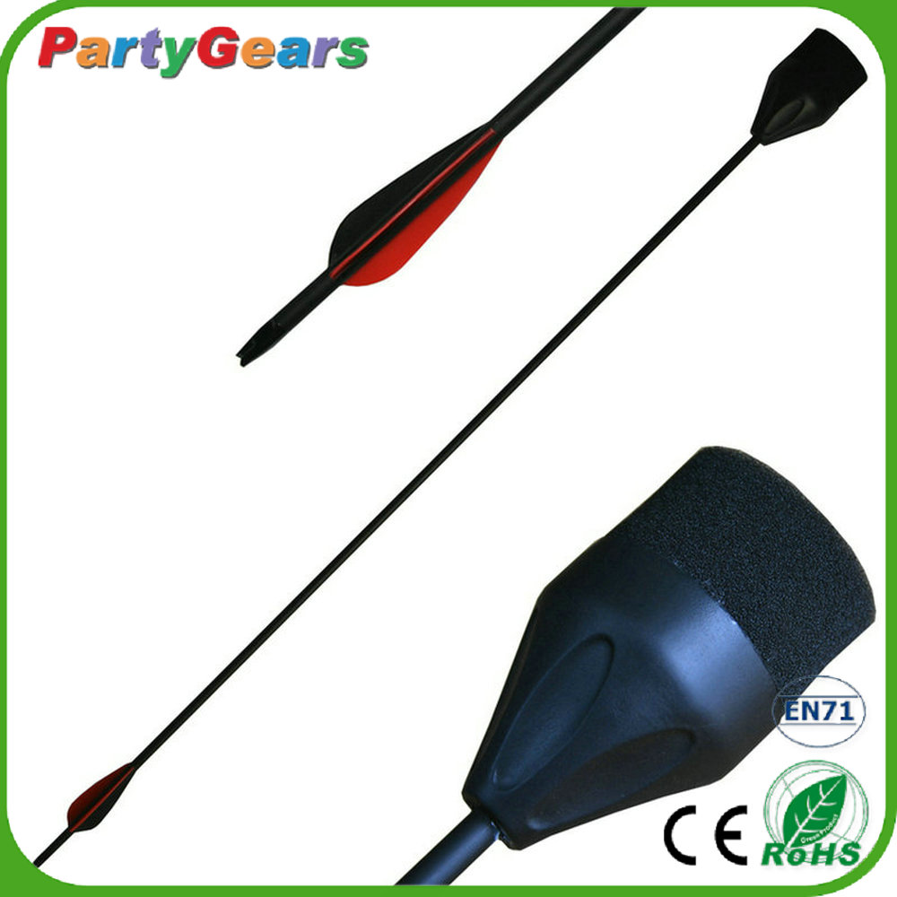 China Supplies Hot Sales PU Foam Fiberglass Archery Products Compound Bow and Arrow Tip Round for Larp&Games&Hunting