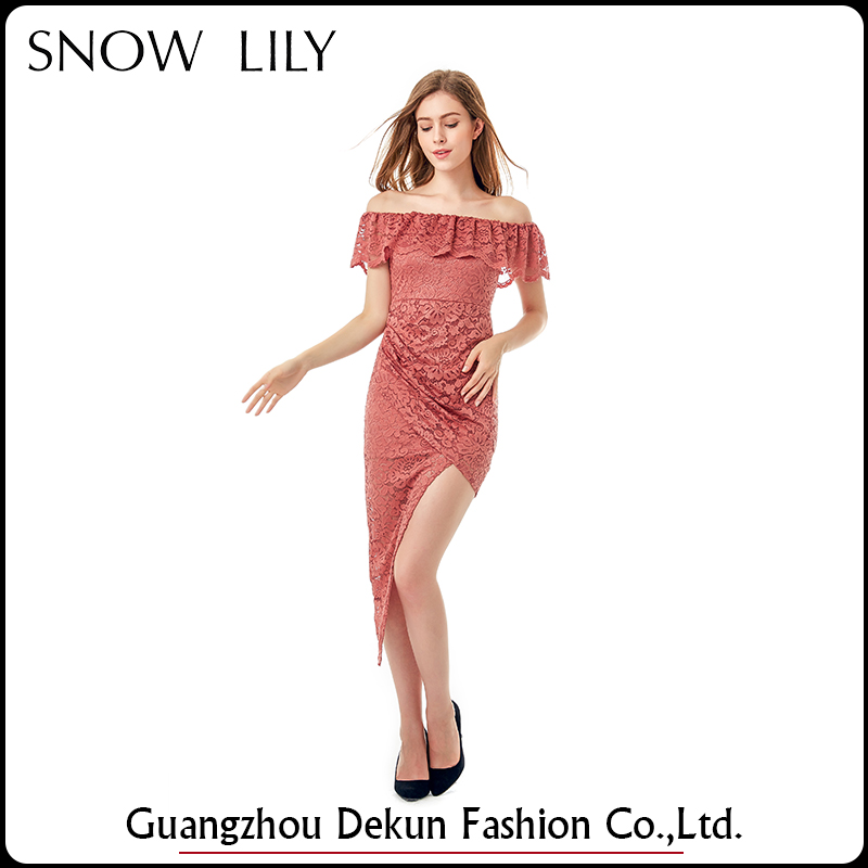 Factory direct sale evening sexy dress for wholesale