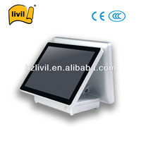 15 Inch Dual Core Of Touch POS System For Hypermarket