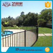 Yishujia factory 2016 wrought iron estate fencing designs