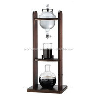 China made low price espresso and cappuccino ice glass coffee maker
