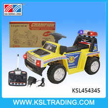 Hot selling remote control car baby with light and music