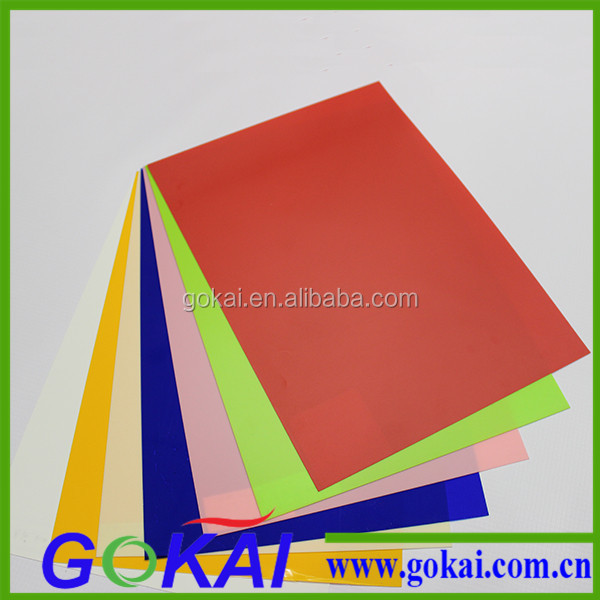 Flexible colorful rigid 4mm pvc sheet black