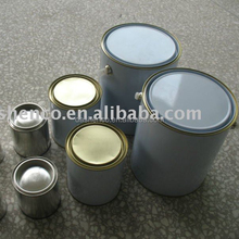 different capacity 1L 2.5L 20L Round metal chemical paint cans