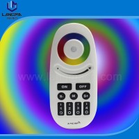 2.4G RF Touch Remote Control for Group Division 4 Zones RGBW LED Bulbs lighting Touch panel Color Wheel Dimer RGBW Controller