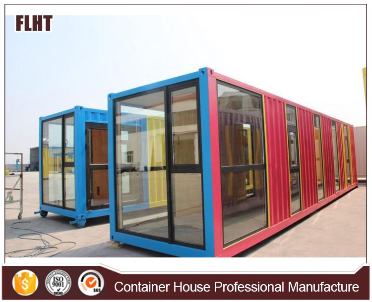 prefabricated container house shop house