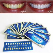 Professional Teeth Whitening Gel / Teeth Whitening Strips Dental Bleaching Kit