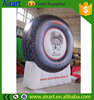 advertising tyres shaped balloons inflatable tyres for displays and promotions