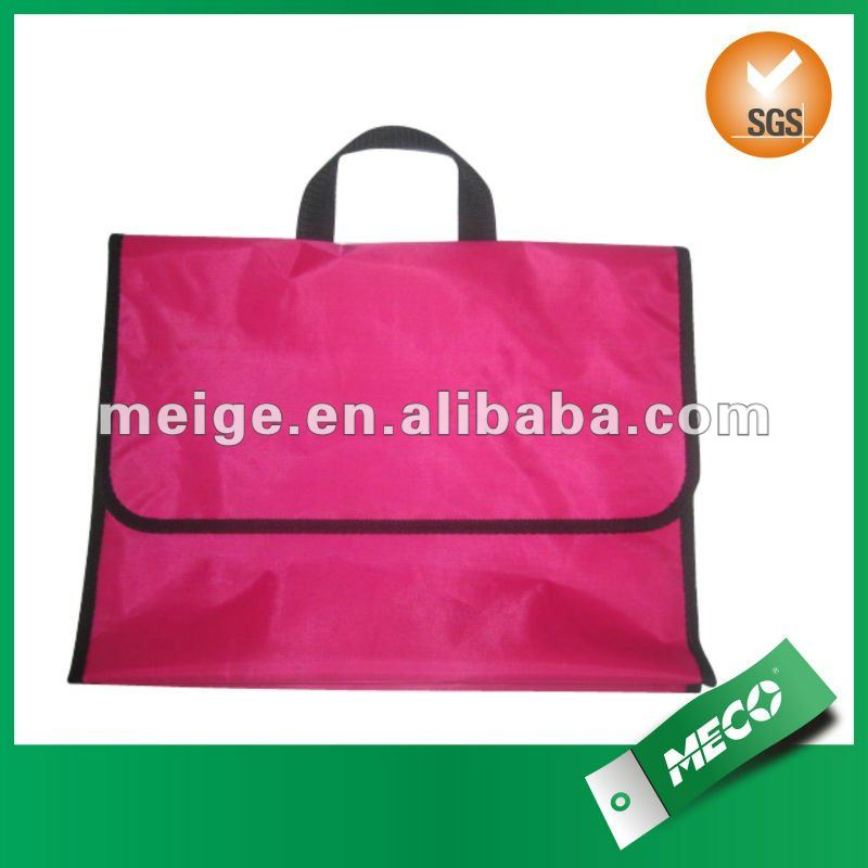zipper documents carry bag