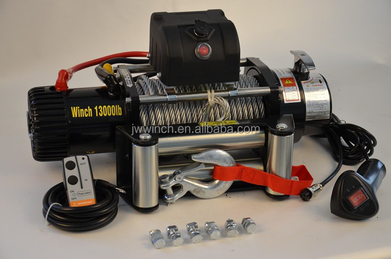 4x4 electric winch 13000lbs with wireless remote /suitable brands of TOYOTA