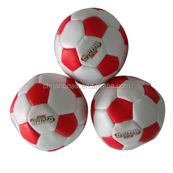 2016 Hot Selling Item PVC Stuffed Flag Leather Soccer Ball Juggling Ball