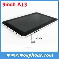 Cheapest 9 inch All winner A13 Capacitive Screen MID Android 4.0 tablet pc