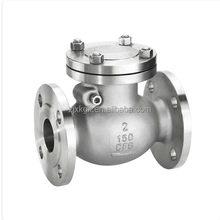 factory direct hot sale ANSI Flanged Stainess Steel Swing Check Valve/food Grade sanitary hygiene
