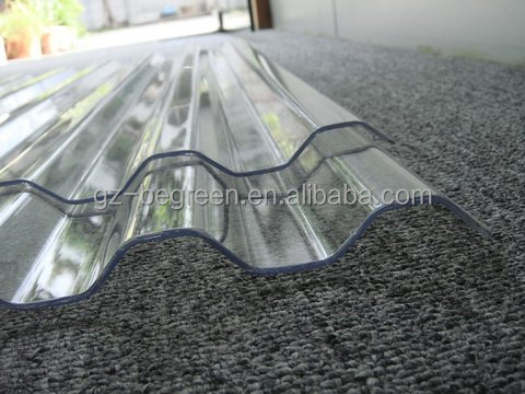 810mm/840mm/930mm wide Transparent PC roof tile, plastic roof tiles