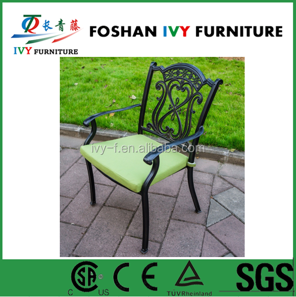 garden cast aluminum dining chairs for indoor and outdoor furniture