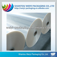 Custom printing food grade clear rigid pvc film for vacuum forming